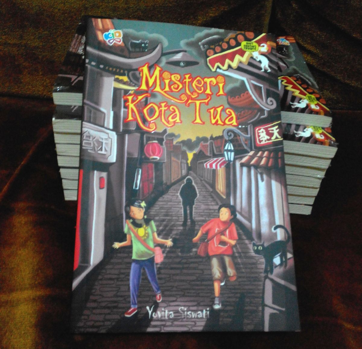 Resensi Novel Misteri Kota Tua di blog mewrimembaca.blogspot.com